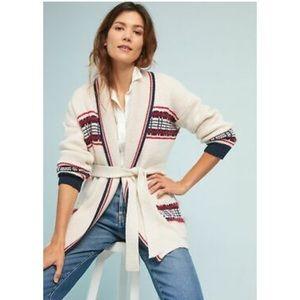 Anthropologie Moth Americana Cardigan Sweater sz M